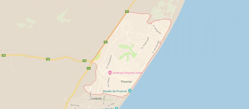 Mapa de Pinamar y sus calles, ¿Dónde queda y cómo llegar?